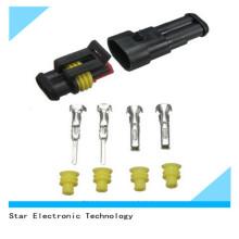 Connecteur et terminal mâles et femelles de Superseal Tyco / AMP des véhicules à moteur de Pin de la Chine Factory2