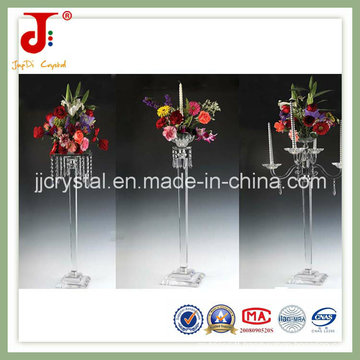 Tall Glass Crystal Centerpieces