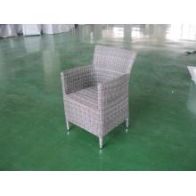 Outdoor PE Rattan Plastic Dining Table and Chair