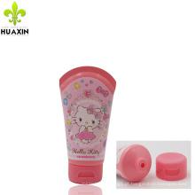 Rótulo de embalagem de cosméticos com tampa superior e embalagem