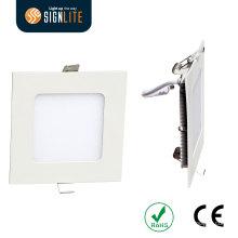 SMD 2835 6W ökonomische LED quadrierte Downlight, Ausschnitt-Loch 105 * 105mm