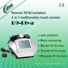 RF + Кавитация для похудения красоты оборудование R9-Riva