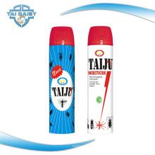Parfum inodore ou personnalisé Spray insecticide à haute teneur en aérosol