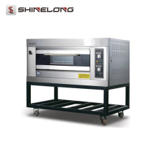 2017 Shinelong Hot Sale K266 1-Layer 2-Tray Oven Manufacturers Bakeries Outdoor Gas Oven