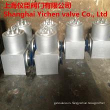 Напорное уплотнение Кованые стальные обратный клапан