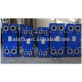 Conjunto refrigerador de aceite marina refrigerador motor diesel aceite
