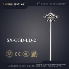 Os mais novos 500W-1000W LED Lâmpada Alta Mastro Luz Fornecedores