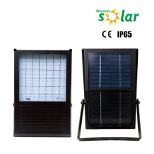 Imperméable à l'eau solaire alimenté inondation feux led, led solaire lumière extérieure avec minuterie, éclairage solaire de sécurité