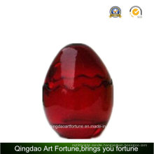 Egg Shape Glass Jar for Easter Day Home Decor