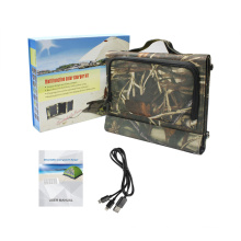 15W Portable Foldable Emergency Solar Charger for Outdoor Camping