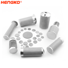 HENGKO Custom Stainless Steel Wire Mesh 316L High-Precision Filter Tube Used For  CEMS  Online Smoke Analyzer