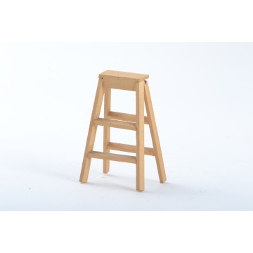 Dollhouse Miniature Wood Step Ladder