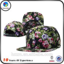 2016 flat brim floral snapback hats
