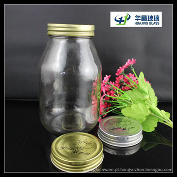 Venda quente de Huajing 30oz Jar Glass Candy
