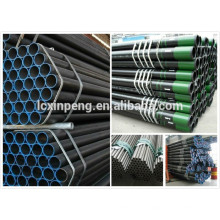 Tubes en acier sans soudure utilisés pour pipeline de pétrole, tube sans soudure en acier au carbone.