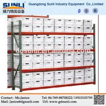 Dever claro ajustável armazenamento Metal loja prateleiras