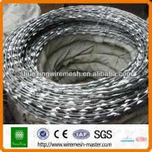 Hot-gal Razor Barbed Wire