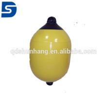 Defensa estándar del PVC del ISO para el color puro blanco azul marino del yate