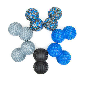 Hot Selling Muscle Relaxation Double Ball PU Hand Foot Ball Massager Kit