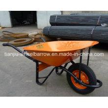Ferramentas da construção civil Wb6400 e carrinho de mão resistente do equipamento para a venda