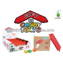 Transparente de animales en casa juguetes de caramelo