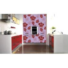 Gabinete de cocina en relieve en forma de flor (zhuv)