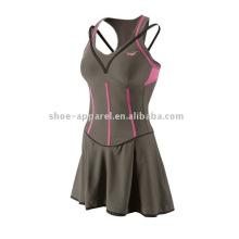 Wholesale sweat mèche robe de tennis avec un fabricant de pantalons