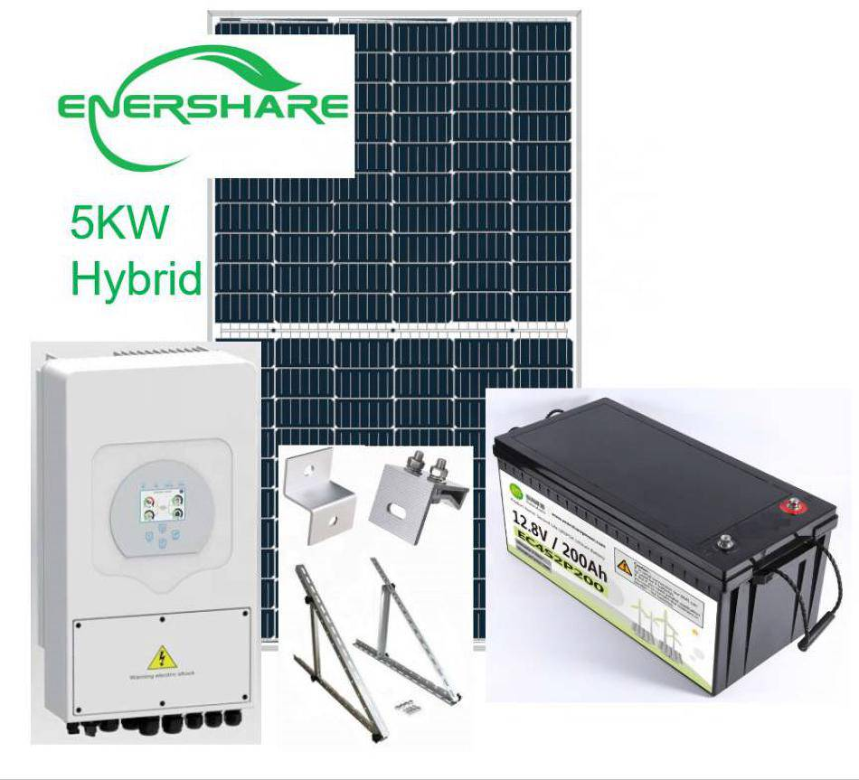 5kw on grid solar power system for home