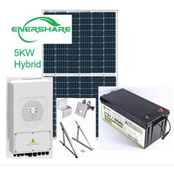 5kw off grid solar power system for home