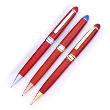 Venda quente bola madeira caneta moda
