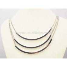 Shiny punk clothes accessory women fashion silver jewelry set