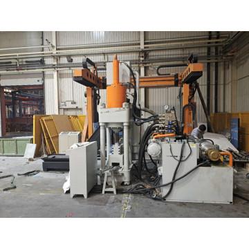 Automatische Aluminiumspäne Drehmaschinen Blockherstellungsmaschine
