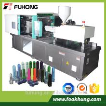 Fabricant de bouteilles en plastique haute capacité Ningbo Fuhong Machine à moulage par injection 200ton pour fabriquer des bouteilles en plastique