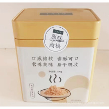 OEM Production Tin Can Container for Food