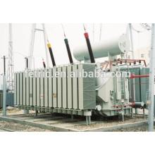 Tipo 400kv transformador de energía inmerso en aceite