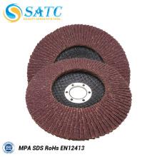 Fábrica profissional da qualidade superior disco da aleta de 4,5 polegadas para o aço inoxidável com certificado