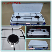Euro type simple gas cooker stove 2 burner