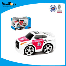 2015 Newest B/O small plastic police car toy