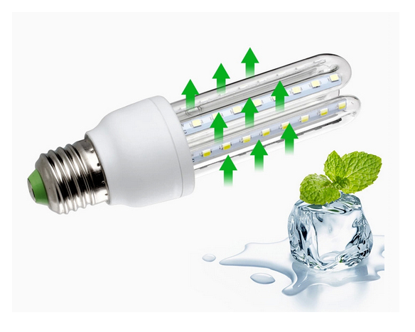 Super bright 2U led energy saving bulb