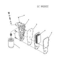 Cummins Engine Spare Parts-Oil Cooler
