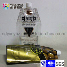 Боковая стойка вверх/средний spout для жидкости/сока