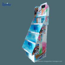 Cosmetics Shop Nail Polish Display Shelf,Floor Standing Retail Cosmetic Nail Polish Stand