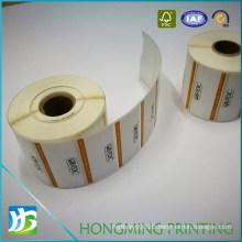 Custom Print PP Paper Adhesive Label