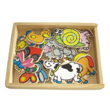 Wooden Magnetic Farm Animals (80639)
