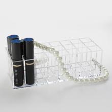 Support de présentoir acrylique pour rouge à lèvres liquide