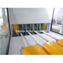 Linha de produção da extrusora da tubulação do PVC quatro