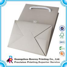 Cheap christmas gift custom plain cheap brown paper bags with handles