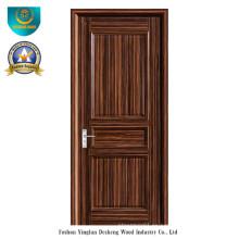 Puerta de madera sólida del estilo moderno para el interior (ds-095)