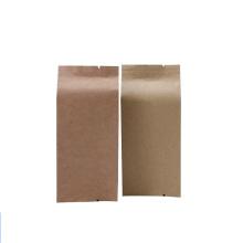 Custom Aluminum Foil Kraft Paper Food Mooncake Tea Four-side Sealing Paper Bag