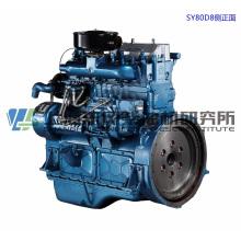 6 Zylinder, 121 kW / Shanghai Dongfeng Dieselmotor für Generator,
